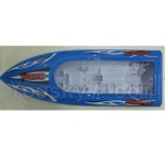 UDIRC-U902 parts-02 Bottom boat cover,Bottom shell cover-Blue