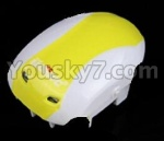 UDI R/C U939 Parts-03 Upper shell cover-Yellow