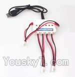 UDI U945 U945A Parts-06 Upgrade 1-to-3 charger with balance charger