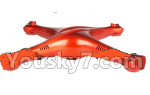 UDIRC-i350H Spare Paarts-04 Upper and bottom shell cover-Orange
