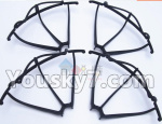UDIRC-i350H Spare Paarts-07-01 Outer protect frame(4pcs)