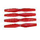 Visuo XS809 XS809S Parts-Upgrade Propellers,Main rotor blades(4pcs)-Red