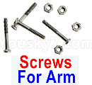 Visuo XS809 XS809S Parts-Screws for the Swing Arm