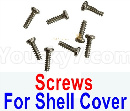 Visuo XS809 XS809S Parts-Screws for the Upper and lower shell cover
