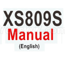 Visuo XS809 XS809S Parts-Visuo XS809S Manual