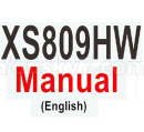 Visuo XS809 XS809S Parts-Visuo XS809HW Manual