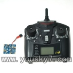 WLtoys-V222-19 Circuit board & 2.4GHZ Remote control