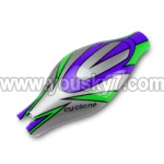 V262-parts-01 Head cover(Green&Purple&Gray)