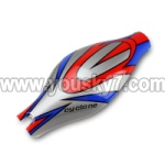 V262-parts-02 Head cover(Red&Blue& Gray)