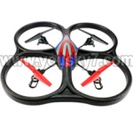 V262-parts-24 V262 Quadcopter BNF(Only Quadcopter Body ,No battery ,No transmitter,No charger)-Red&Blue