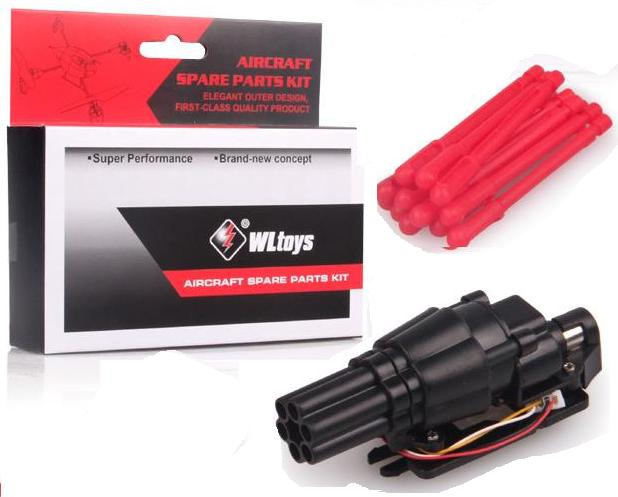 Wltoys V262 parts-33 Fired missiles device