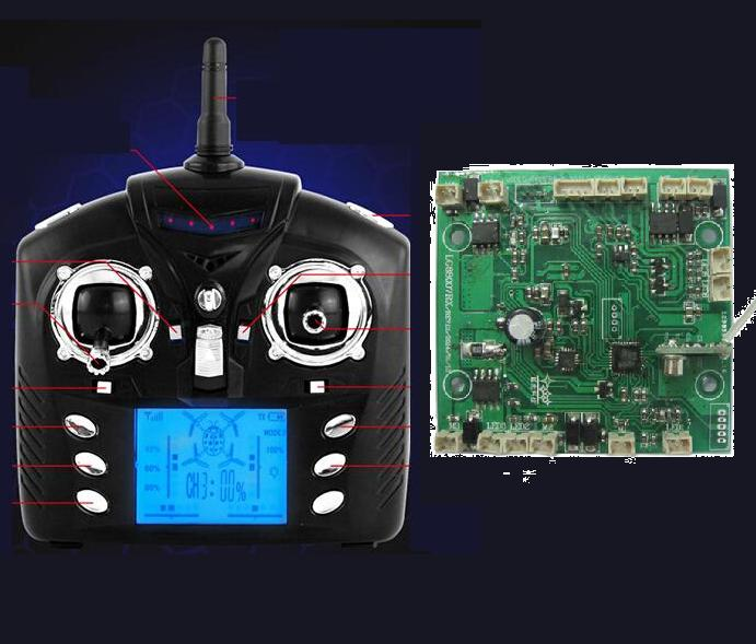 Wltoys V262 parts-39 Transmitter  & Circuit board