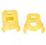 Wltoys V272-parts-08 Motor Base-Yellow(2pcs)