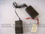 WL-V913-helicopter-11 Charger & Balance charger & Battery-(Total-3pcs)
