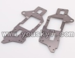 WL-V913-helicopter-27 Upper side metal frame(2pcs)