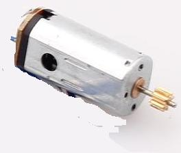 WL-V913-helicopter-30 Tail motor with shaft and gear