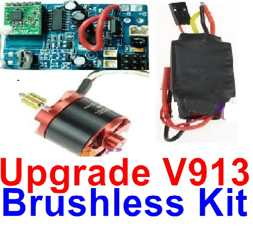 Wltoys V913 Spare Pars-60-01 Upgrade Brushless system(Include the Brushless circuit board,Brushless motor,ESC)