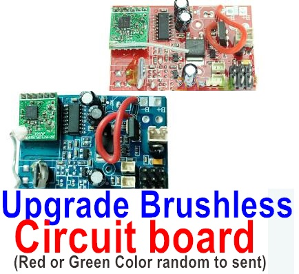 Wltoys V913 Spare Pars-60-02 Upgrade Brushless circuit board(Red and Green color ramdom to sent it ou)