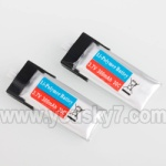WL-V922-07 Battery 3.7v-300MAH-30C-(2pcs)
