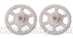 V933-parts-12 Main rotor gears(2pcs)