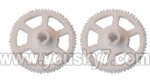 V944-parts-12 Main rotor gears(2pcs)