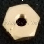 WL915 Boat Parts-22 Screw nut for the Rod Fixed parts