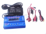 WL915 Boat Parts-51 Upgrade B6 Balance charger and Power Charger unit(Can charger 2S 7.4v or 3S 11.1V Battery)