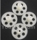 Wltoys Q696 Parts-12-02 Q393-08 Main gear(4pcs)