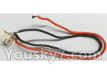 Wltoys Q696 Parts-14-02 Q393-12 Rear motor cable with socket assembly