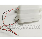 Wltoys Q696 Parts-20 Q393-22 Front lights board with shade components