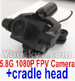 Wltoys Q696 Parts-38 Q696-A-01 5.8G 1080P FPV Camera unit with hollow cup cradle head