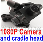 Wltoys Q696 Parts-39 Q696-C-01 1080P camera unit with hollow cup cradle head group