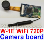 Wltoys Q696 Parts-43 Q696-E-005 W-1E Wifi 720P wide-angle Camera board