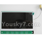 Wltoys Q696 Parts-51 5.8G receiving display Screen
