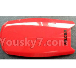 Wltoys Q818 Parts-Upper body shell cover-Red-Q818-02
