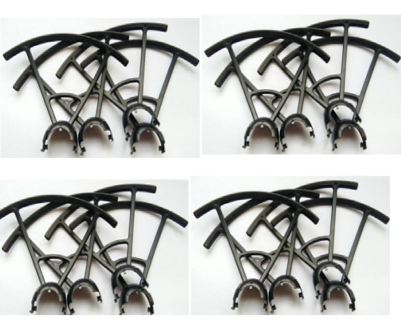 Wltoys-Q838-E Parts-Outer protect frame(16pcs)-Q838-E-13