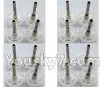 Wltoys-Q838-E Parts-Main gear with hollow pipe(16pcs)-Q838-E-16