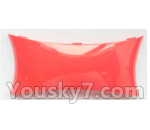 Wltoys-Q838-E Parts-Main body cover fitting-Red-Q838-E-08
