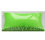 Wltoys-Q838-E Parts-Main body cover fitting-Green-Q838-E-09