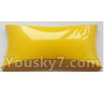 Wltoys-Q838-E Parts-Main body cover fitting-Yellow-Q838-E-11
