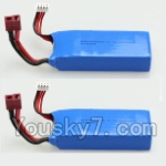 Wltoys V950 Spare-Parts-34-02 11.1V 1500MAH Battery(2PCS)