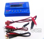Wltoys V950 Spare-Parts-36-04 Upgrade B6 Balance charger(Can charger 2S 7.4v or 3S 11.1V Battery)