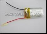 WL-V757-11 3.7V Li-Poly battery