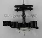 WL-V757-20-Main Frame with 4x main gear and shaft & Lower main grip set