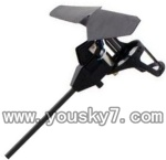 WLtoys-v969-10 Legs-Black(Carbon rod  & Stand frame for motor & Motor & Main blade)