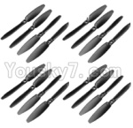 XK X251 Drone Parts-03 Main rotor blades,Propellers(16pcs)