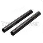 XK X251 Drone Parts-09 Long Carbon tube for the Support arm(9X87mm)-2PCS