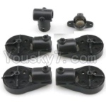 XK X251 Drone Parts-11 Motor seat(4pcs) & Landing gear cover(2pcs)