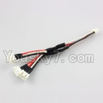 XK X251 Drone Parts-20 Upgrade 1-TO-3 Charge wire