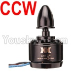 XK X251 Drone Parts-33 1307 Reversing-rotating Brushless Motor(CCW)-1pcs